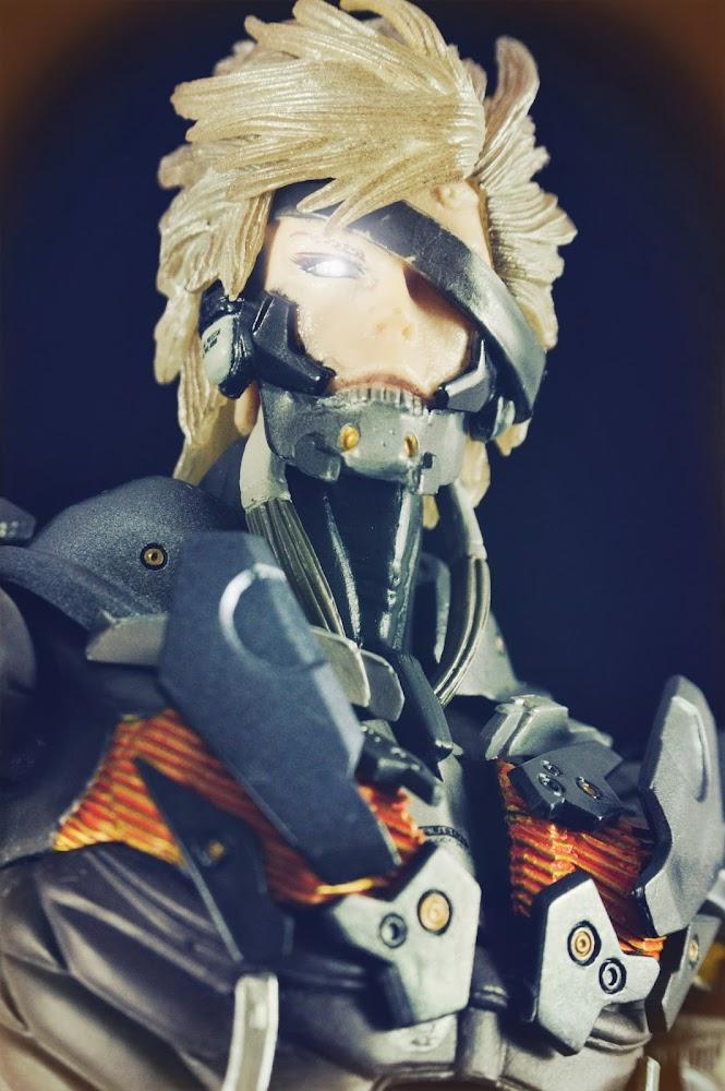 Raiden (Metal Gear Solid) Custom Action Figure
