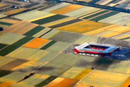 Coface Arena FSV Mainz 05 Luftbild
