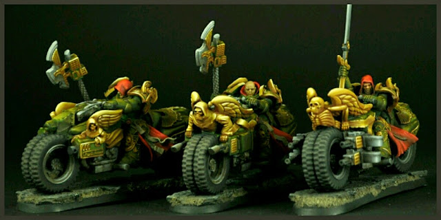 Motos Angeles Oscuros Scibor Miniatures