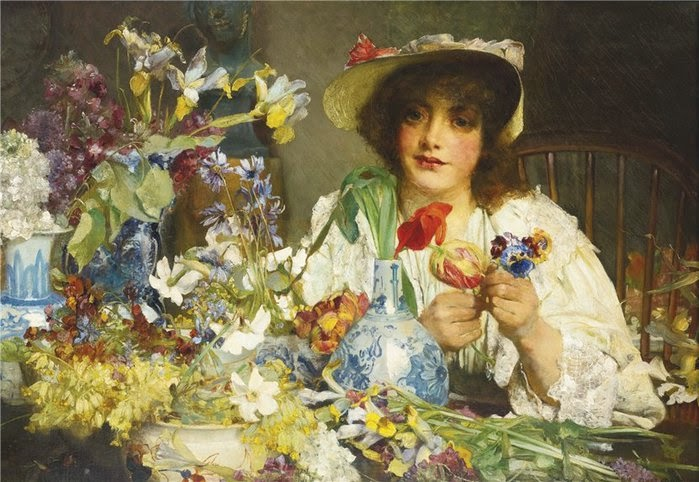 Edgar Bundy - The florist.