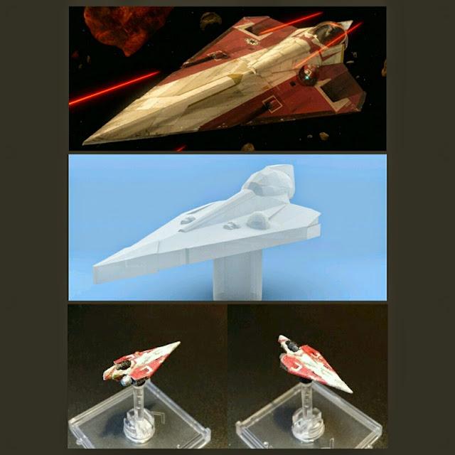 Delta-7 de Mel Miniatures