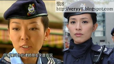 《女警愛作戰》又中招,朱慧敏所飾女警編號為39213,有網民發現這與郭少芸多年前於《學警出更》的號碼一樣