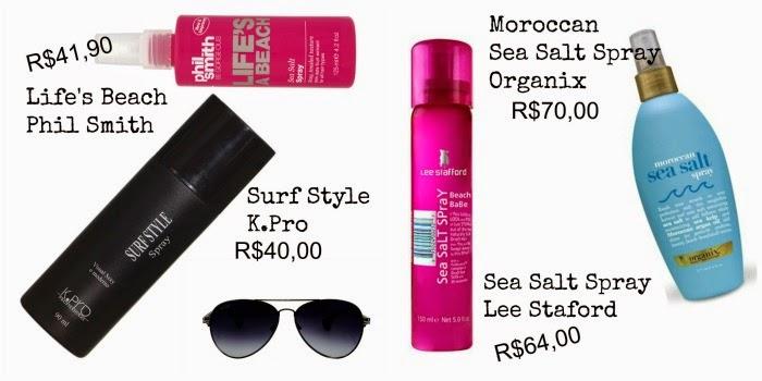 10 surf spray para texturizar o cabelo no verão