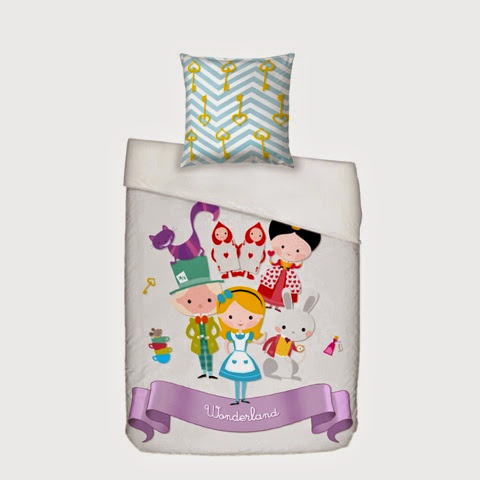 Mr Fox Alice Bedding - Alice in Wonderland