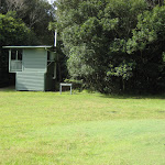 New toilet at Indian Head camping ground