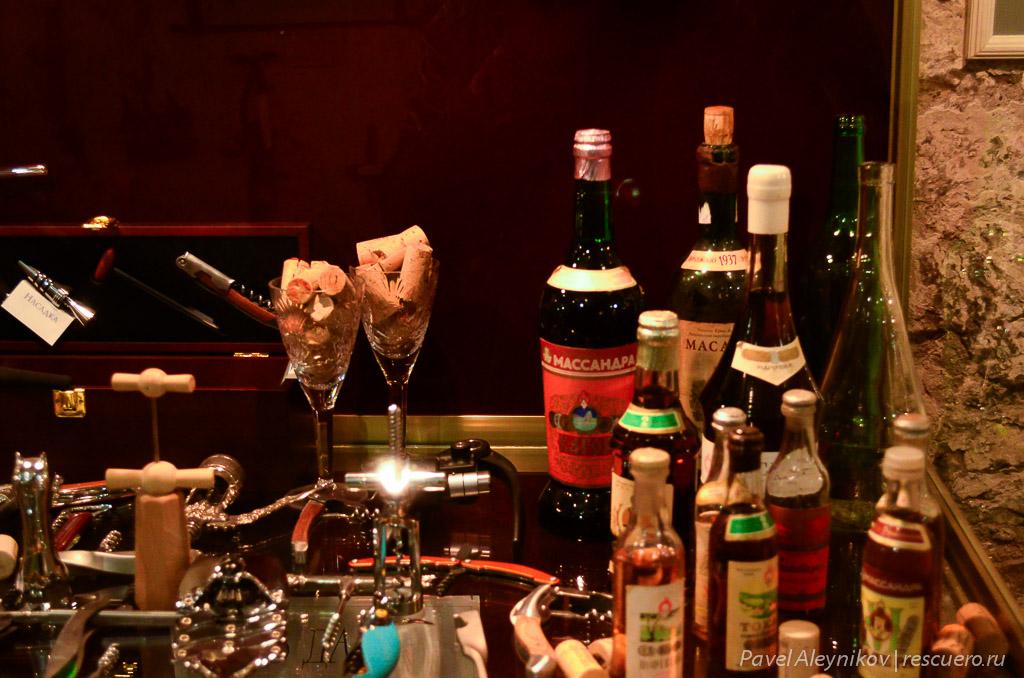 Образцы бутылок для вина