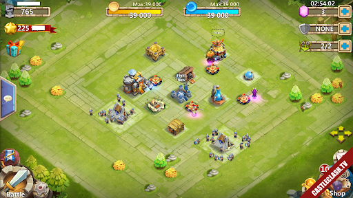 Sell account castle clash