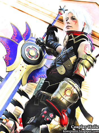 .hack//g.u. cosplay - haseo