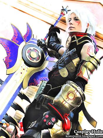 .hack//g.u. cosplay - haseo
