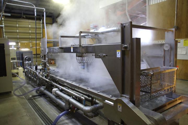 水稲種籾温湯殺菌装置
