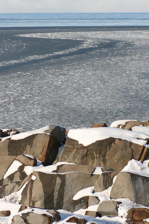Die zufrierende Hudson Bay