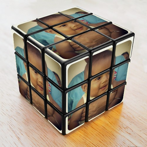 Effect Rubic Cube