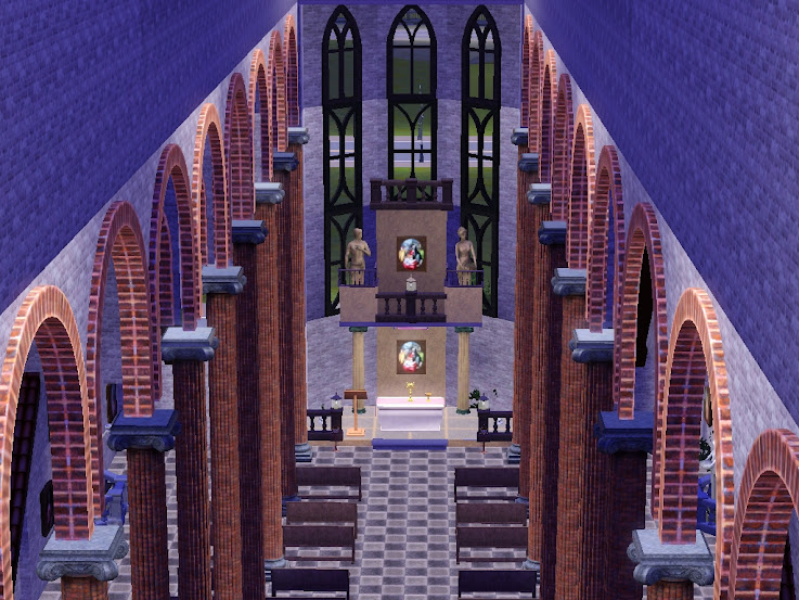 cathedral,church,kerk,kirche,iglesia,temple,sims3