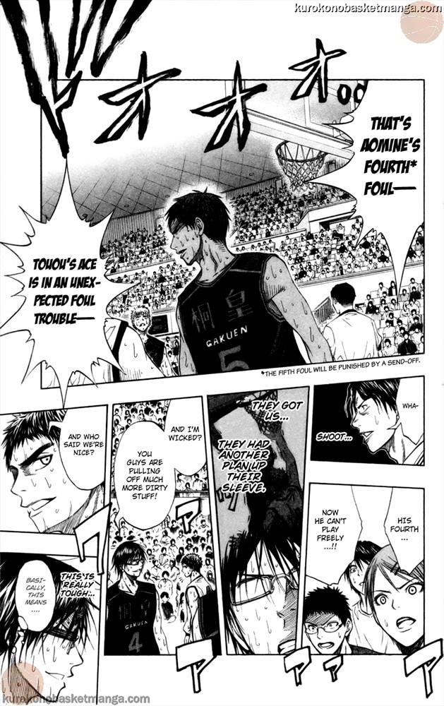 Kuroko no Basket Manga Chapter 70 - Image 600/9