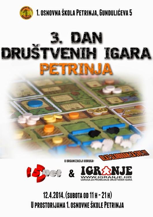 3. Dan društvenih igara u Petrinji