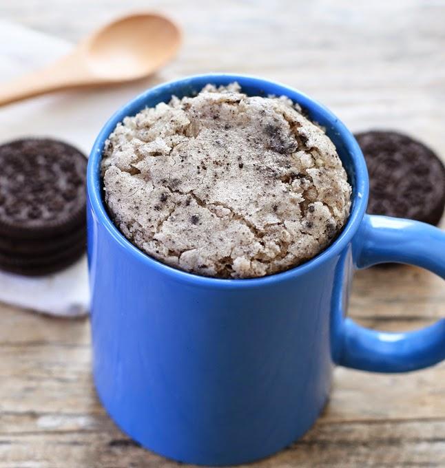 photo of a Cookies n' Cream Mug Cake