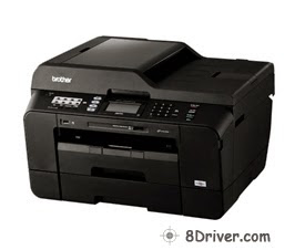 Download Brother MFC-J6910CDW printer's driver, learn how you can setup