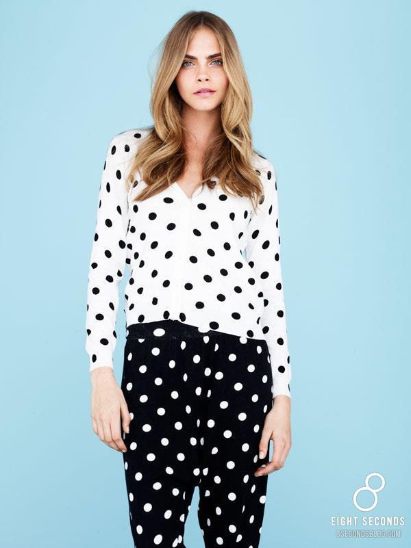 *韓風吹不停:名模Cara Delevingne代言三星旗下品牌 8ight Seconds 2013 SS 2