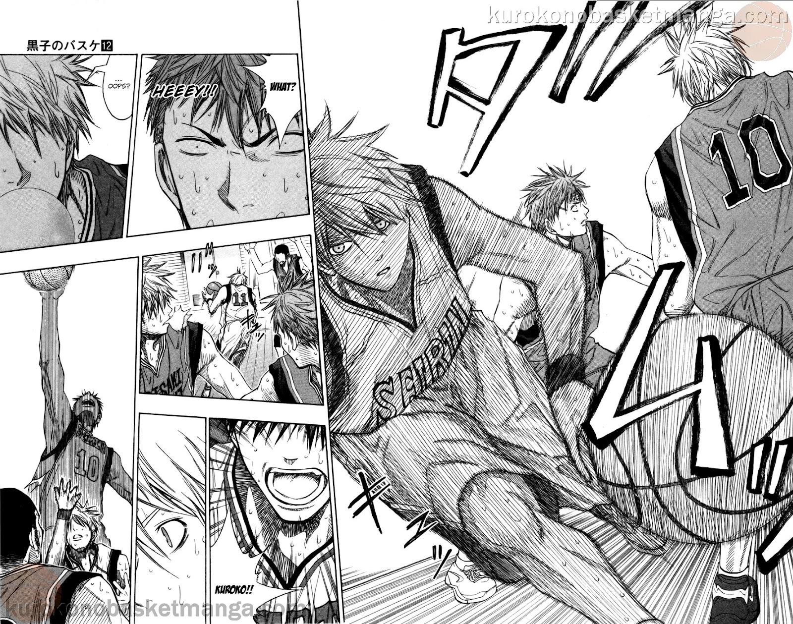 Kuroko no Basket Manga Chapter 103 - Image 16-17