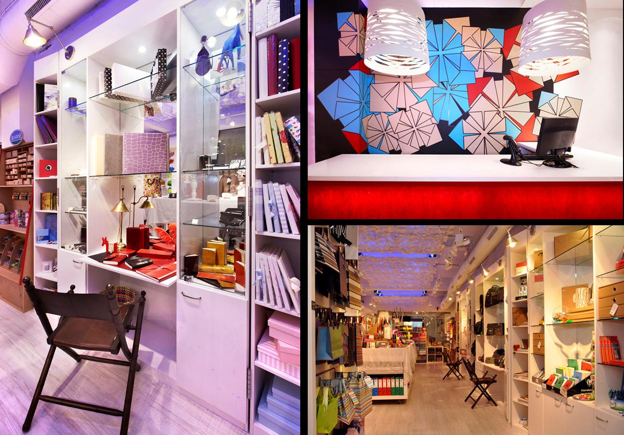 Lo importante est en el interior origami paper como en casa for Disenos para boutique