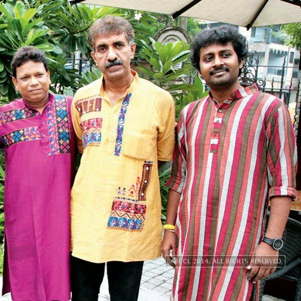 Members of Bangla folk band Dohar during Sohoj Parav, held at a city restaurant.