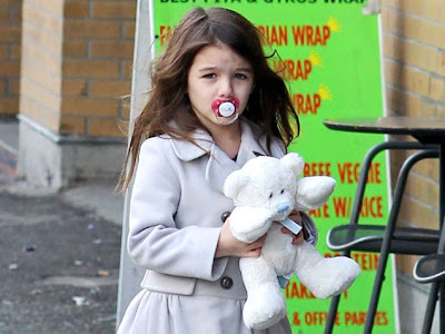 suri cruise pacifier. Suri Cruise: How to get