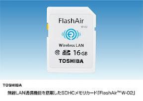 Toshiba FlashAir W-02 SD-WC016G