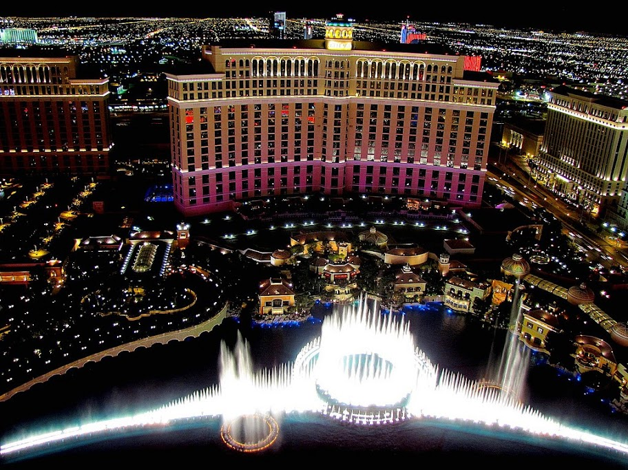 LAs fuentes del Bellagio, Las Vegas