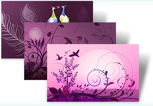 LoveBirds theme for windows 7,LoveBirds theme,LoveBirds windows 7,LoveBirds windows 7 theme,windows 7 theme LoveBirds