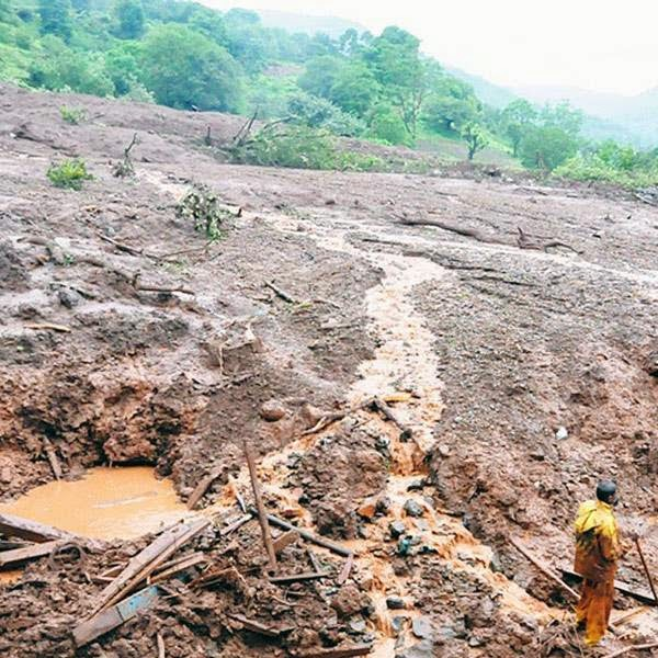 Maharashtra chief minister Prithviraj Chavan visited the mishap site on Wednesay night and reviewed rescue operations, appealing to people not to crowd the village as it could affect the ongoing work.