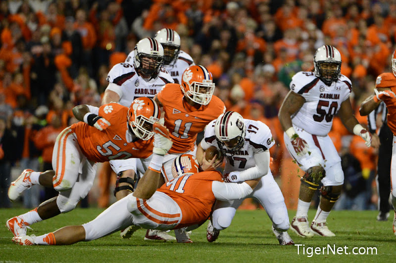 Clemson vs. South Carolina Photos - 2012, Football, Josh Watson, South Carolina