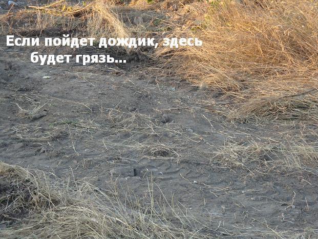 картинки в темных тонах :: грязь
