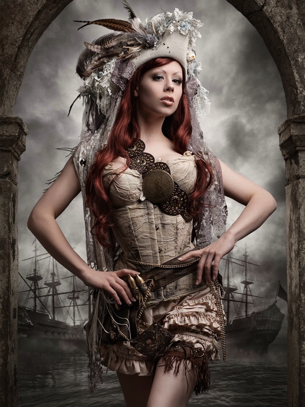 Sexy Steampunk Girl 10