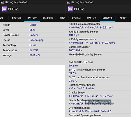 CPU Z 02 CPU Z pentru Android