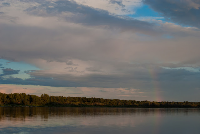 Вечер на реке Вятке
