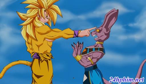 Sau một thời gian dài không có đối thủ mạnh, Goku bỏ qua lời khuyên của  King Kai và thách thức Bills trong một trận chiến. Tuy nhiên, Goku không đủ  mạnh ...