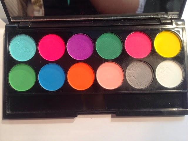Newly Vain Sleek Makeup I Divine Eyeshadow Palette In