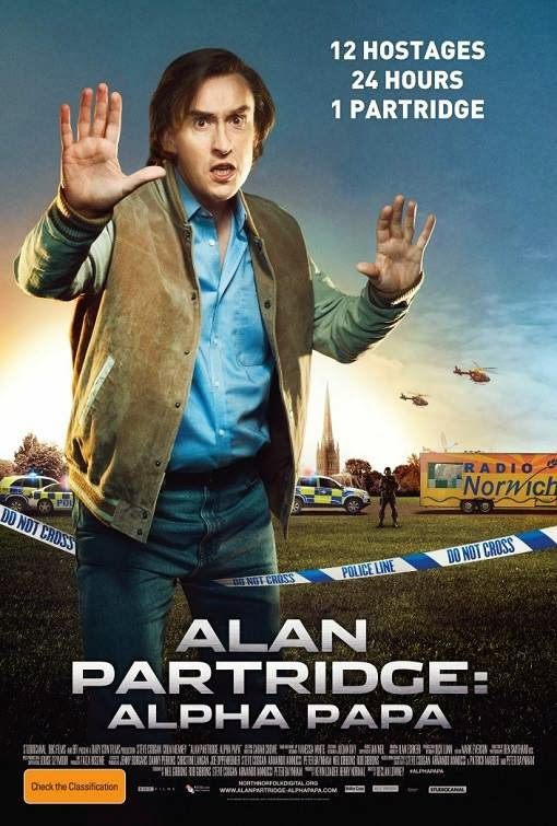Poster Of English Movie Alan Partridge: Alpha Papa (2013) Free Download Full New Hollywood Movie Watch Online At alldownloads4u.com