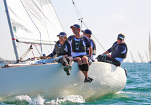 J/22 sailing Hot Rum San Diego