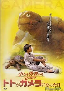 Hòn Đá Thiêng - Gamera The Brave poster