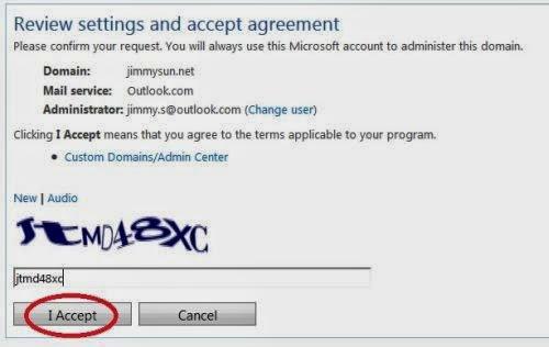 email dengan domain milik sendiri