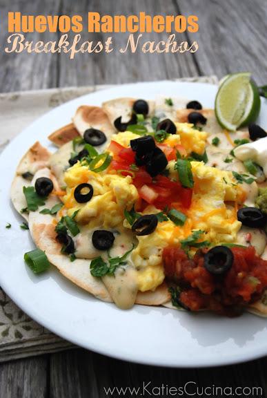 Huevos Rancheros Breakfast Nachos from KatiesCucina.com