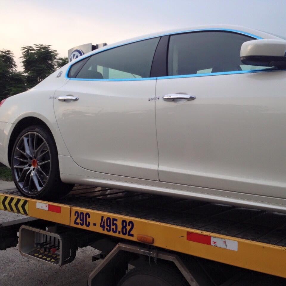 Siêu xe Maserati Quattroporte GTS đầu tiên đã về Việt Nam