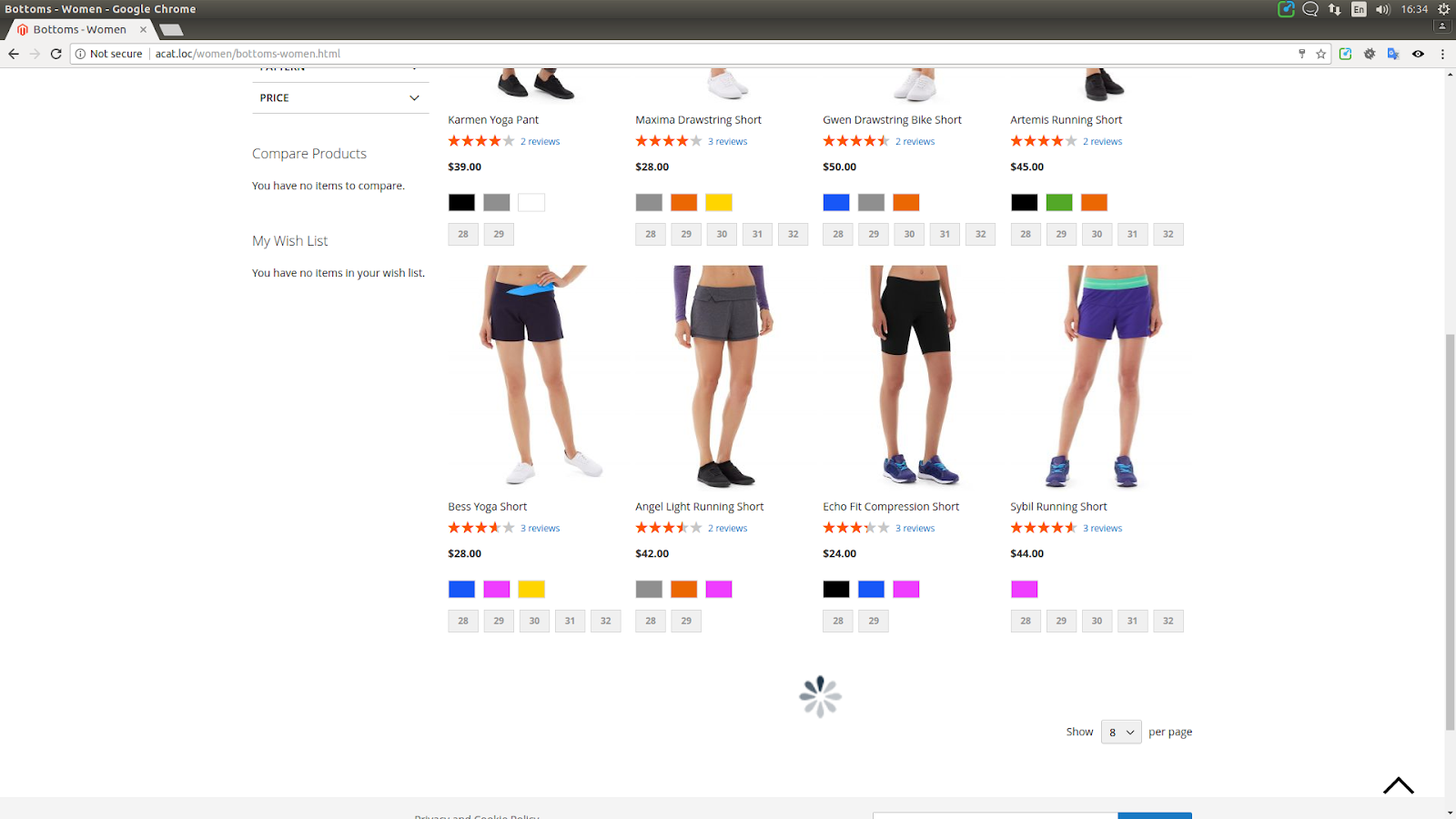 Ajax Catalog for Magento 2 | Webinse