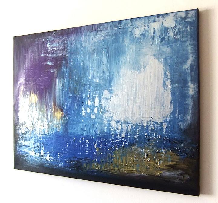 Pintura abstracta de creaci alex sanader art cuadro for Tele dipinte a mano moderne