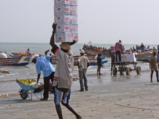 Trabajo africano