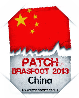 Patch China Brasfoot 2013