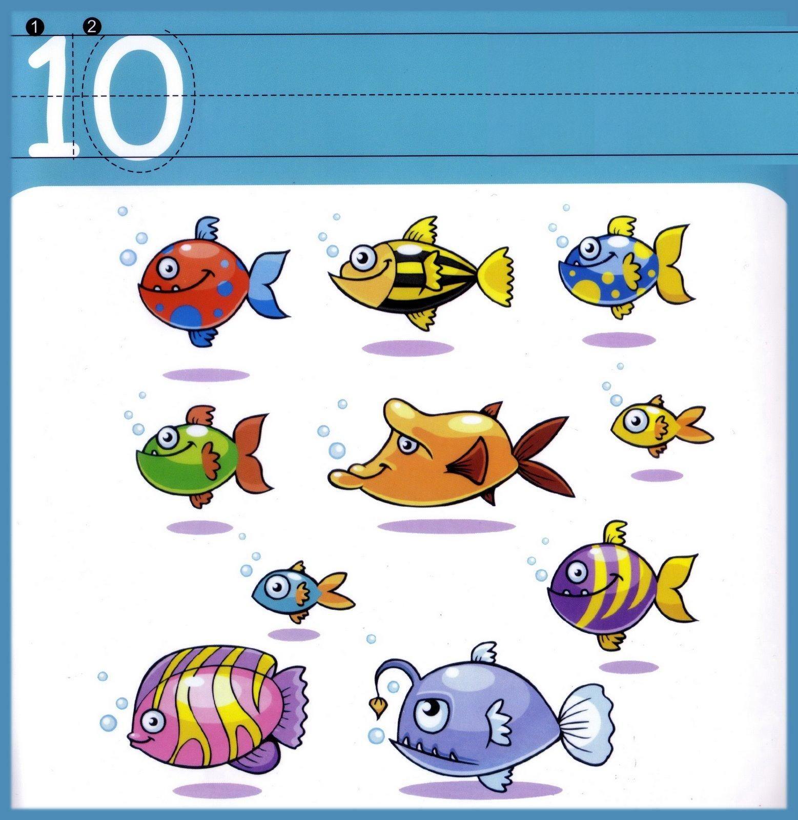 Numeros animados del 1 al 10 - Imagui