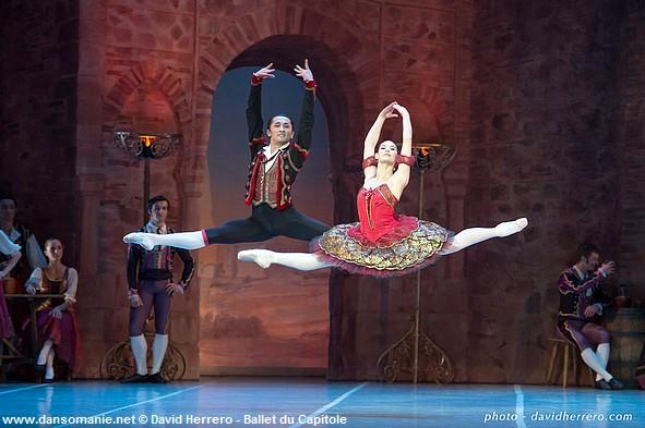 noureev_Kazbek Akhmedyarov (Basilio) et Alice Renavand (Kitri)