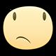 Thinking Facebook sticker